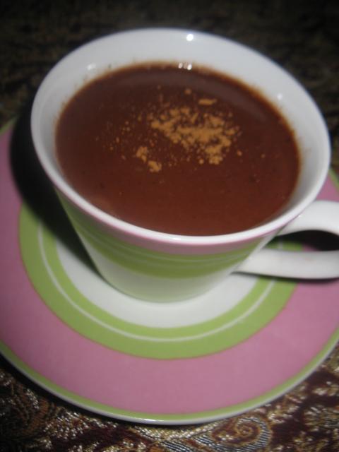 شکلات داغ دارچینی - کدبانوگری